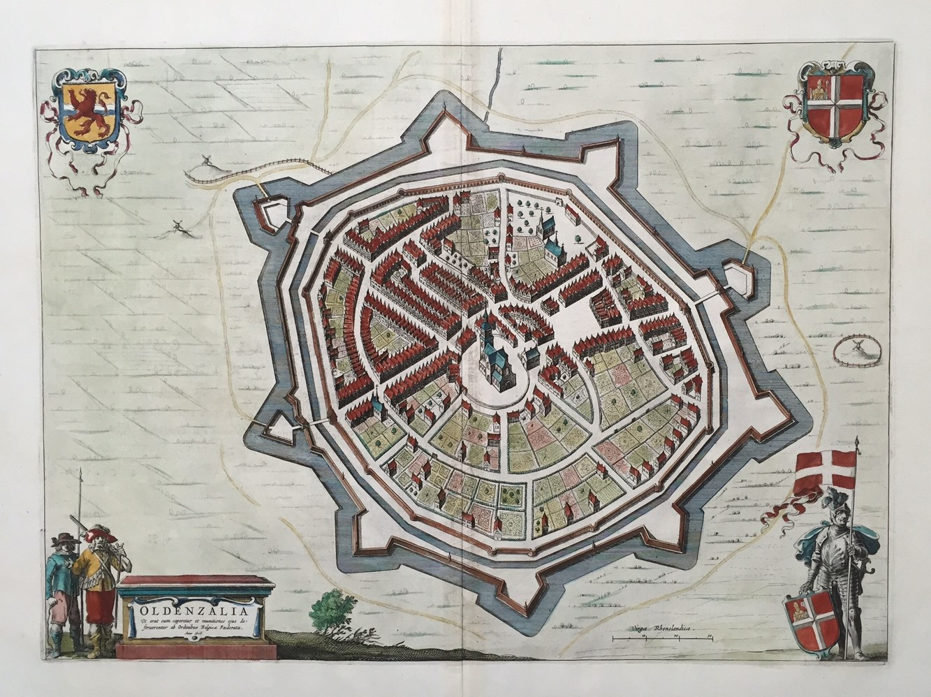 Oldenzaal blaeu 1649 mappamaps - Oldenzaal mobel ...